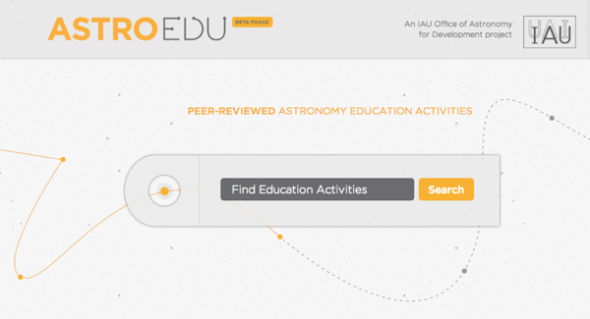 astroEDU homepage