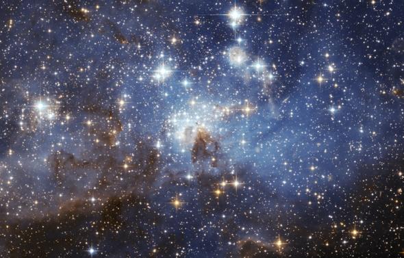 A star-forming region. Credit: NASA, ESA, STScI/AURA