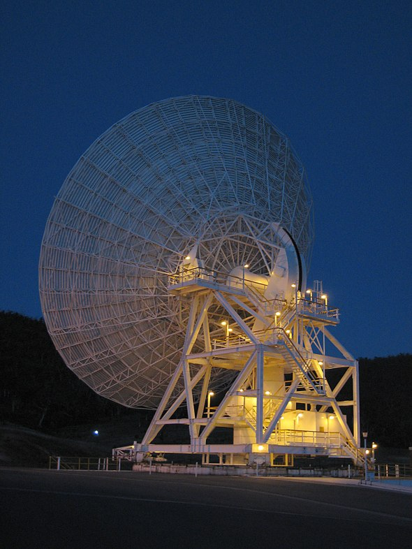 Deep Space Station 34 in Canberra is supporting the European Space Agency's daring comet mission. Image: NASA/JPL