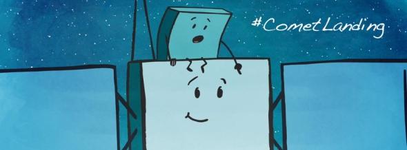 Follow the adventures of Rosetta and Philae. Image: ESA