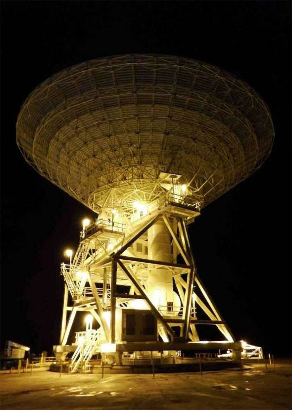 DAY OR NIGHT: Deep Space Station 35 will be operating 24/7 to help make discoveries in deep space.